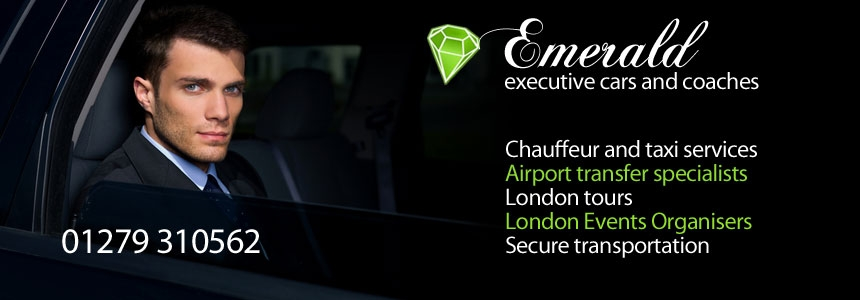 Executive car hire bishops stortford
